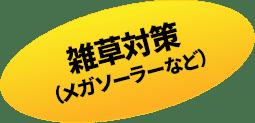 雑草対策(メガソーラーなど)